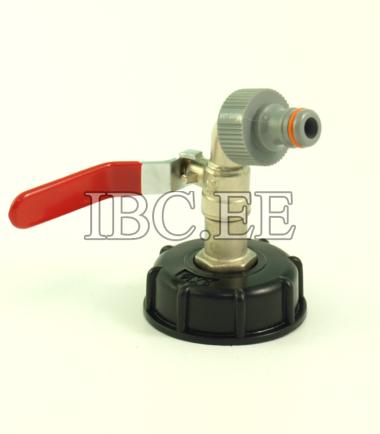 S60X6 female 1?2'' valve Pipe Tap garden 3?4''