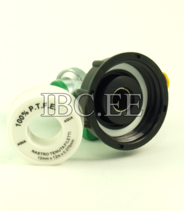 "Adapter S60X6 female 3/4"" super valve qiuck connect and 1/2"" 14 mm hose"