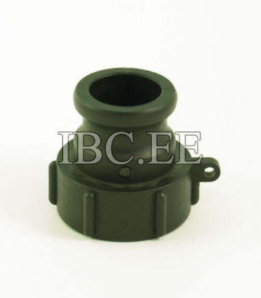 "1½"" Camlock adapter x S60X6 female buttres PP"