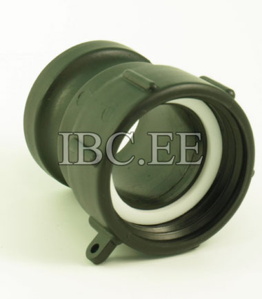 Adapter Fitting 2Inch DN50 Inlet Thread To 2Inch Camlock Hose Coarse Thread