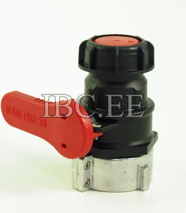 Valve ball DN50 (PTFE GASKET,S60*6 THREAD)