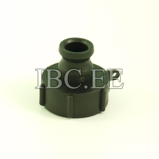 "1"" Camlock adapter x S60X6 female buttress PP"