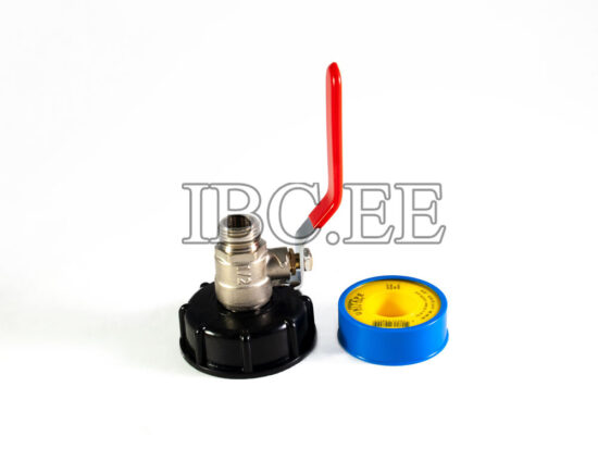 "S60X6 female 1⁄2"" valve MM"