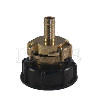 Adapter IBC - Geka coupling S60X6 female 3/4'' nikkel Geka hose brass 13 mm