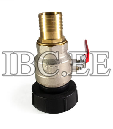 "Adapter 3""S100X8 (100mm) female to 2"" BSP/NPT female valve 2"" MFPN40 Nikkel hose 50mm"