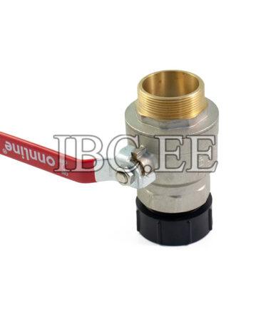 S60X6 female 2'' valve MF DN50 PN40 nikkel thread 2'' male