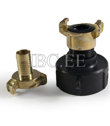 Adapter IBC - Geka coupling S60X6 female 1'' M nikkel Geka hose brass 20 mm