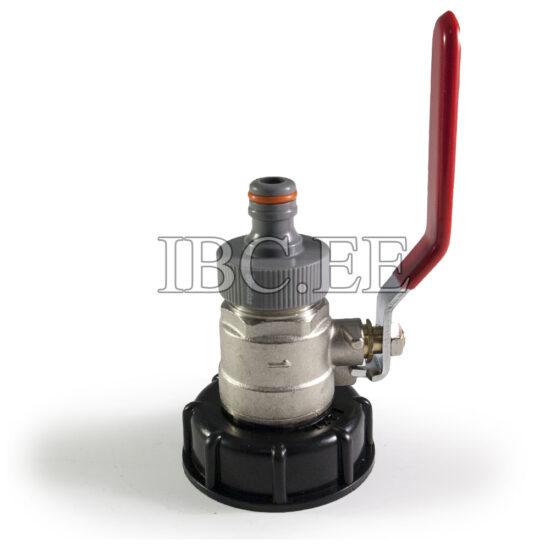 Coupling S60X6 female 1'' valve MM DN25 PN30 Pipe Tap garden